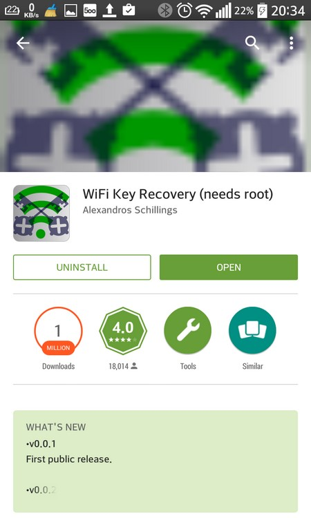 how to find wifi password on android tablet