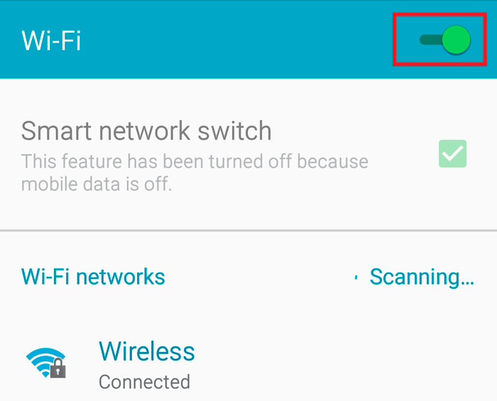 How to connect Android to Wi-Fi with a hidden SSID