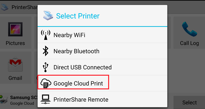 Google Cloud Printer