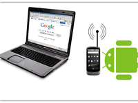 Connect Android to a PC via Wi-Fi