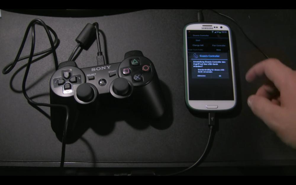 Connect the Dualshock