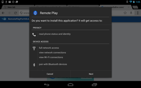Dualshock 4 controller to Android via Bluetooth
