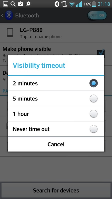 Visibility timeout instalation