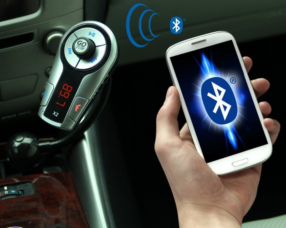 Bluetooth FM Transmitter Control