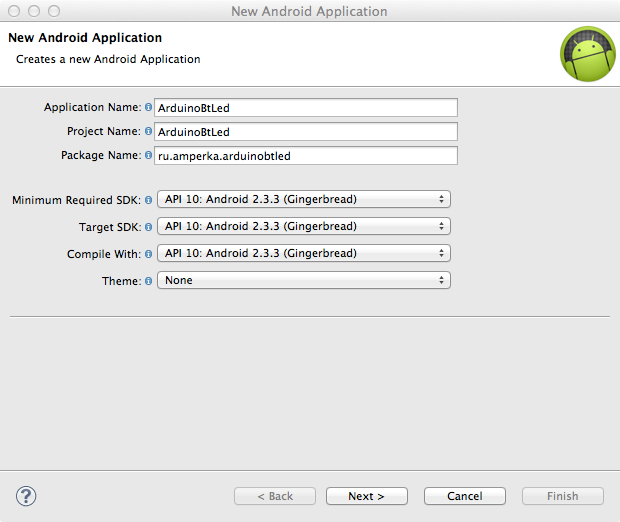 New Android applications
